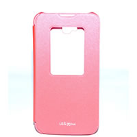 Capa Quick Window Pink LG L70 Dual 1